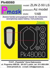 Zlin Z-50LS Masks #PK48060