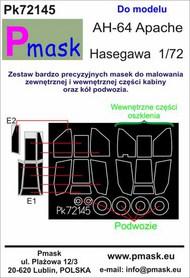 Hughes/Boeing AH-64A Apache Masks #PK72145