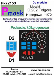 Macchi C.202 Folgore Masks #PK72153