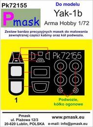 Yakovlev Yak-1b Masks #PK72155
