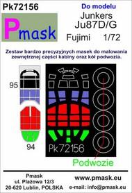 Junkers Ju.87D/G 'Stuka' Masks #PK72156