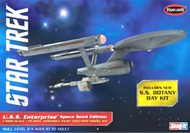 Polar Lights  1/1000 Star Trek USS Enterprise Space Seed Edition & SS Botany Bay (Snap) PLL908