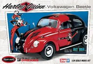 Polar Lights  1/24 VW Beetle Harley Quinn from Batman Classic (Snap)- Net Pricing PLL944