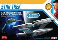 Polar Lights  1/1000 Star Trek USS Grissom & Klingon Bird of Prey (Snap) PLL957