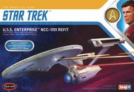 Polar Lights  1/1000 Star Trek Wrath of Khan USS Enterprise NCC1701 Refit PLL974