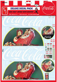 Polar Lights  1/25 Vintage Coca Cola Santa Clause Big Rig Graphics Decals Set PLLMKA35