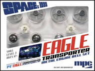 Space 1999: Eagle Transporter Metal Engine Bell Set for MPC #913 #PLLMKA38