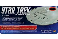 Polar Lights  1/350 Star Trek The Original Series USS Enterprise Weathering Decals PLLMKA8