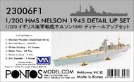 Pontos Model Wood Deck  1/200 HMS Nelson Detail Set for TSM PON230061