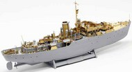 Pontos Model Wood Deck  1/144 HMCS Snowberry Detail Set [Flower Class] (REV kit) PONF14401