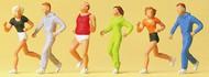 Preiser  HO People Jogging (6) PRZ14078