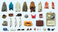 Unpainted Clothes, Safety Vest, Bags, etc. (Kit) #PRZ17008