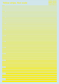 Print Scale Decals  1/144 Yellow stripes PSL035