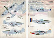 North-American F-51 Mustang Units of the Korean War #PSL32029