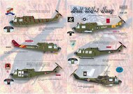 Print Scale Decals  1/35 Bell UH-1B Huey (6) PSL35-003