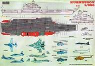 Print Scale Decals  1/350 Soviet aircraft carrier Admiral Kuznetsov PSL350-001