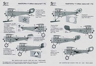 Print Scale Decals  1/48 Nieuport 17-24 Collection 16 different aircra PSL48010