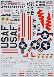 North-American F-51 Mustang. Units of the Korean War/ Part 2 #PSL48171