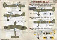 Henschel Hs 126 #PSL72164