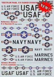 Vietnam War. US Faded Insignia #PSL72368