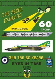 348 sq TRS 60 YEARS is the origin McDonnell RF-4E Phantom II #PD32-903