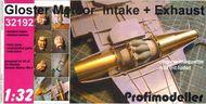 ProfiModeller  1/32 Meteor Intake & Exhaust PF32192P