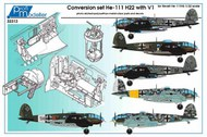 Heinkel He-111H-22 conversion super big set #PF32316
