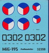 Mig-19S CSAF Decals #PF32358P