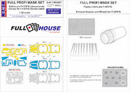 Q-M-T  1/32 Full House Paint masks for McDonnell F-4E/F-4 QMTM32007