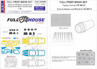 Q-M-T  1/32 Full House Paint masks for McDonnell RF-4B/RF QMTM32009
