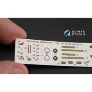 Quinta Studio  1:48  Yak-1B Late Production (MDV kit) QTSQD48004PRO