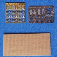 RB Productions  1/24 WWII-Post RAF Sutton QK Seat Harness (Pre-Cut Paper/Photo-Etch) (D)<!-- _Disc_ --> RBR24001