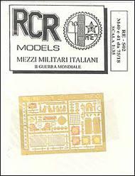 RCR Models  1/72 PE Set-Exterior M.40 75/18 RCRRES02