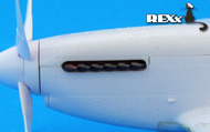 North-American P-51B/P-51C Mustang exhaust nozzles #REXX48006