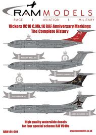 Vickers VC10C/VC-1C.MK.1K RAF Special Schemes #RAMM14401