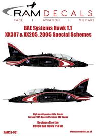 BAe Systems Hawk 2007 Special Scheme #RAMM32001