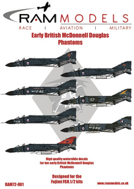 Early British McDonnell-Douglas Phantoms #RAMM72001