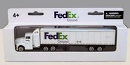 Realtoy International  1/87 FedEx Ground Tractor Trailer (Die Cast) RLT1037