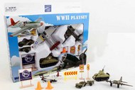 WWII Die Cast Playset (12pc Set) #RLT1941