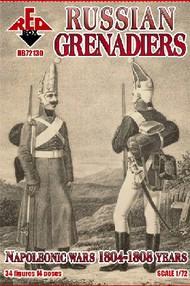 Russian Grenadiers Infantry Napoleonic Wars 1804-1808 (34) #RBX72130
