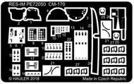 Fouga CM-170 Magister upgrade PE set #RESIM7251