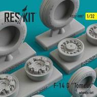 Grumman F-14D 'Tomcat' wheels set #RS32-0007