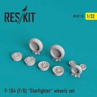Lockheed F-104F/F-104G Starfighter wheels set #RS32-0010