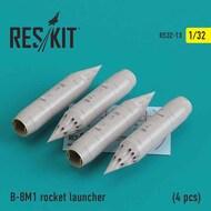 B-8M1 rocket launcher (4 pcs) #RS32-0013