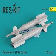 Paveway-II (UK) Bomb (2 pcs) #RS32-0047