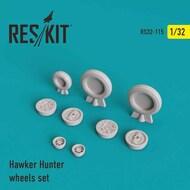 Hawker Hunter F.6/FGA.9/Mk.58 wheels set #RS32-0115