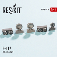 Lockheed F-117 'Nighthawk' wheels set #RS48-0016