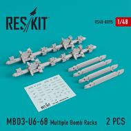 MBD3-U6-68 Multiple Bomb Racks #RS48-0095