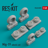 Mikoyan MiG-19 wheels set #RS48-0098