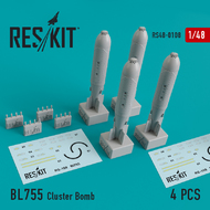 BL755 Cluster Bomb (4 pcs) #RS48-0108